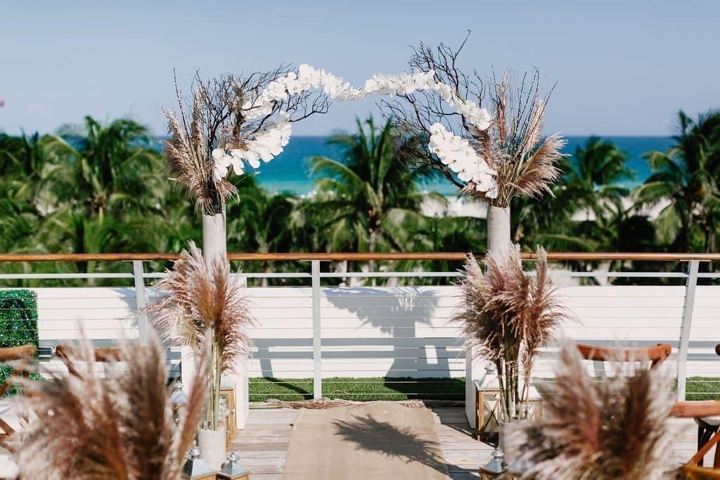 Wedding Ceremony on Miami beach